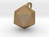 Icosahedron - Pendant 3d printed
