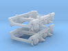 1 pair top-equalized trucks, ISB/RAB (1/160) 3d printed