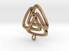 Triangle Fusion Pendant 3d printed