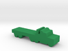 Game Piece, Semi-truck Flatbed 3d printed