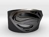 Superman Ring - Man Of Steel Ring US11 3d printed