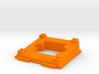 Tilted camera holder for ZMR250 3d printed
