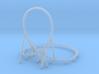 Katapult (just track) - 1:160 (N scale) 3d printed