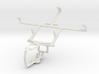 Controller mount for PS3 & BlackBerry Porsche Desi 3d printed