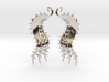 SeaBeans Earrings 3d printed