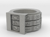 Combination Lock Ring 3d printed