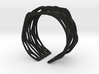 Rocker Coil Bracelet Perforated  3d printed