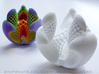 Libidinis Hexagonis Coloratus (Touchable Fractal) 3d printed Also available in Strong and flexible plastic
