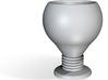Goblet espresso cup 3d printed