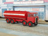 1:43 AEC Mammoth Major Mk1 Cab & 8Whl Chassis 3d printed Elliptical fuel tank body fitted.
