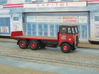 1:43 AEC c 1934 Mammoth Major Cab & 6Whl Chassis 3d printed Flatbed body with tailboard fitted