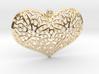 HeartPendantV1 PE33s1 46x31h55 3d printed
