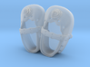Baby Shower Decorations - Baby Shoes - One Color  3d printed