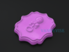 Baby Shower Decorations - Baby Rattle - One Color 3d printed