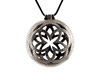 Floral Locket 3d printed Stainless Steel