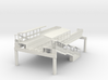 HO subway / Elevated W Philadelphia Station End 3d printed