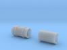 SET 2x Straßenbelag-Walze (Reihenverband - H0) 3d printed