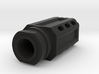 Meat Mallet Flash Hider - Airsoft 3d printed