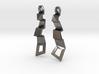 Zigzag Earrings 3d printed