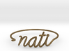 NATI Wire Bracelet (Cincinnati) 3d printed