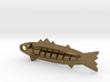 ^jewelry pendant minnow with tail 3d printed