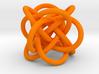 Tetraknot Pendant 3d printed