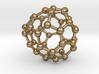 0121 Fullerene C40-15 c2 3d printed
