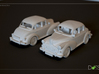 2 Morris Minors at 1/48  3d printed Rendering of Model