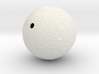 Moon Hollowed-~ 60mm diameter / 1mm wall thickness 3d printed