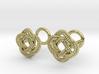 Nautical Turk's Head Knot Cufflinks 3d printed