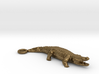 Crocodile Pendant 3d printed
