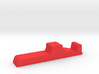 Game Piece, Red Force Ballistic Sub 3d printed