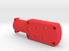 Quadcopter Brushless Motor Mount to fit 16mm carbo 3d printed