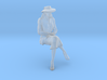 1:32 scale Girl Friday sitting 3d printed