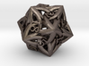Large Celtic D20 3d printed