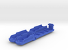 Cruise & Giant cargo ships (4 pcs) 3d printed
