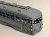 HO MUNI Double-End PCC Trolley Body 3d printed