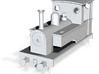 OO9 Kerr Stuart 0-6-0T - Minitrix Dock Tank 3d printed