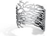 Purkinje Cell Cuff Bracelet  3d printed