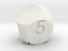 D7 2-fold Sphere Dice 3d printed