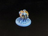 Summoned Stone tokens (3 pcs) 3d printed White Strong Flexible, hand-painted.