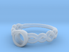 GBW13 Solitaire Engagement Ring 3d printed