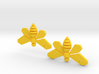 Breaking Bad Bee Earrings 3d printed