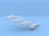 Delfine - 1:220 (Z scale) 3d printed