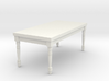 1:24 Half Scale French Country Dining Table 1 3d printed