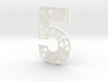 House Number 5 3d printed