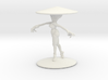 Girl With Hat 3'' 3d printed