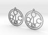 Meghan - Earrings - Series 1 3d printed