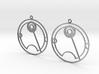 Tallie - Earrings - Series 1 3d printed