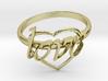 Ring Of Love 3d printed